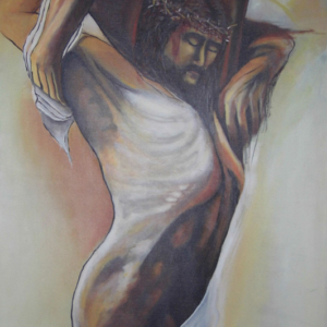 El descenso - Acrílico sobre lienzo